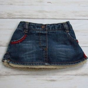 Old Navy 3-6 Mo Jean Skirt                      A6